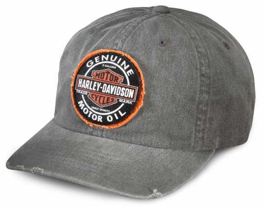 H-D Motorclothes Harley-Davidson Baseball Cap Genuine Oil, grau  - 99411-16VM