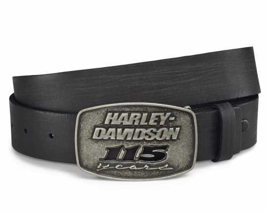 H-D Motorclothes Harley-Davidson Gürtel & Schnalle 115th Anniversary  - 99411-18VM