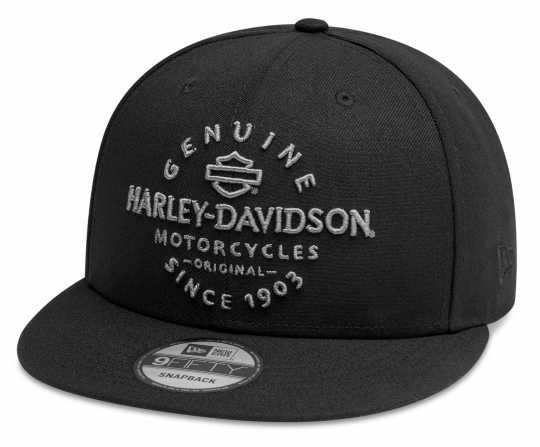 H-D Motorclothes Harley-Davidson Baseball Cap Genuine 9FIFTY® schwarz  - 99411-20VM