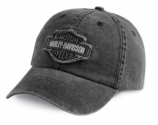 H-D Motorclothes Harley-Davidson Baseball Cap Frayed Tonal, grau  - 99414-16VM