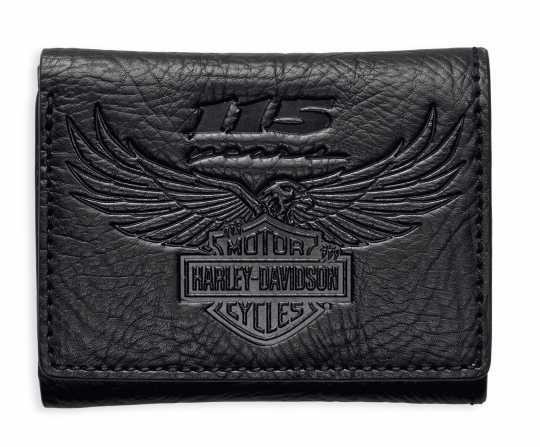 H-D Motorclothes Harley-Davidson Tri-Fold Geldbörse 115th Anniversary  - 99414-18VM