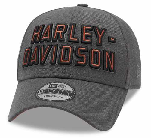 H-D Motorclothes Harley-Davidson Baseball Cap Embroidered Graphic 9FORTY® grau  - 99420-20VM