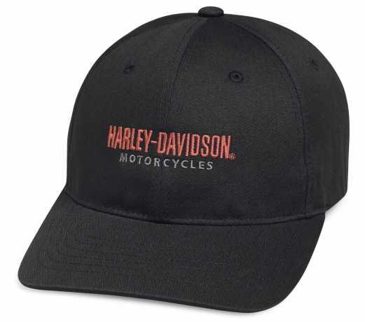 H-D Motorclothes Harley-Davidson Baseball Cap Traditional, schwarz  - 99426-18VM