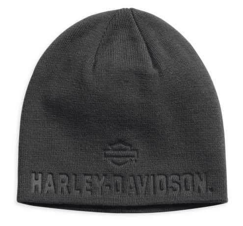 H-D Motorclothes Harley-Davidson Debossed Knit Hat, grey  - 99430-18VM
