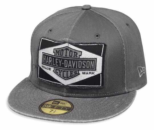 H-D Motorclothes Harley-Davidson Baseball Cap Raw Edge 59Fifty, grau  - 99437-18VM