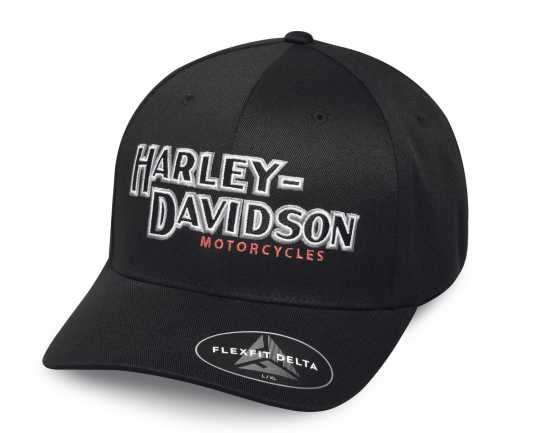 H-D Motorclothes Harley-Davidson Baseball Cap Iconic Delta L - 99456-17VM/000L