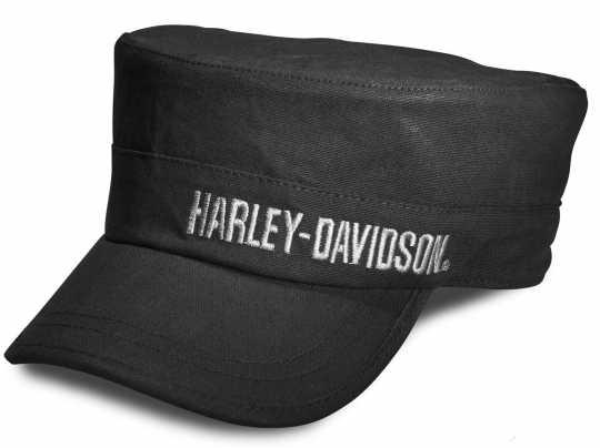 H-D Motorclothes Harley-Davidson Embroidered Flat Top Cap black  - 99461-10VM