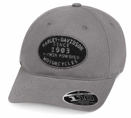 H-D Motorclothes Harley-Davidson Baseball Cap V-Twin Powered grau  - 99461-19VM