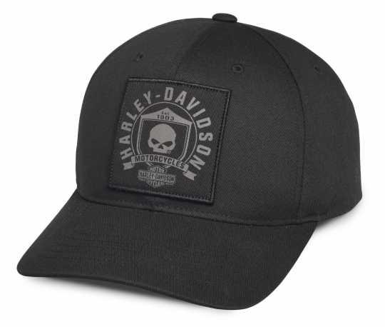 H-D Motorclothes Harley-Davidson Men's Skull Shield Patch Cap  - 99492-17VM