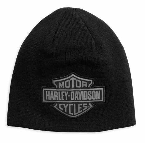 H-D Motorclothes Harley-Davidson Men's Reversible Logo Knit Hat  - 99493-17VM