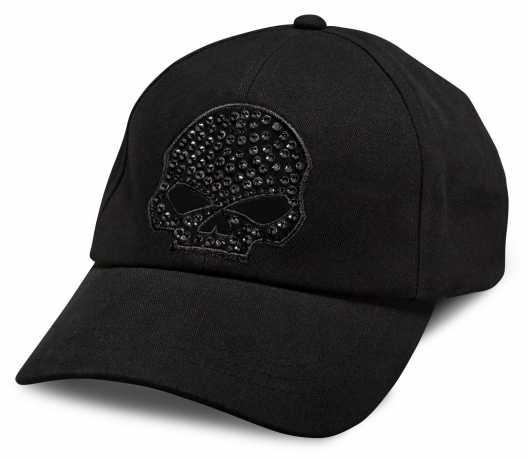 H-D Motorclothes Harley-Davidson Damen Baseball Cap Skull schwarz  - 99502-15VW