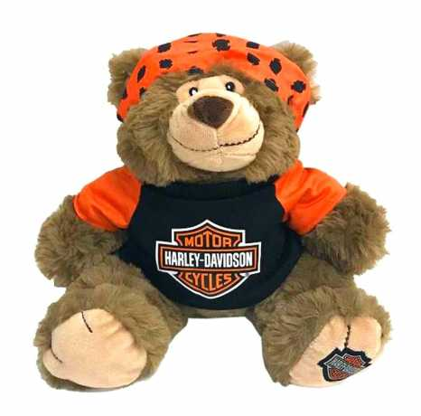 H-D Motorclothes Harley-Davidson Large Stuffed Plush Bear Big Ed  - 9950849
