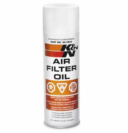 Harley-Davidson K&N Air Filter Oil  - 99882-88T