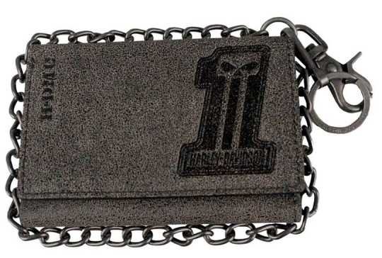 H-D Motorclothes Harley-Davidson Geldbörse #1 Garage Trucker Trifold Plus  - BG1100L