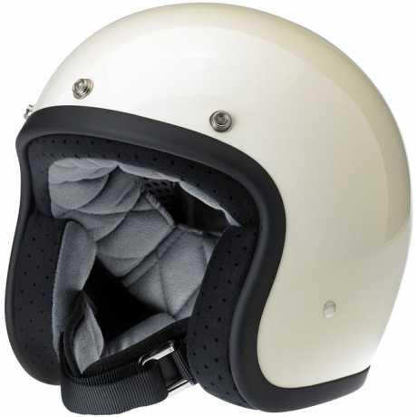 Biltwell Biltwell Bonanza Helm, Vintage weiß  - 942785V