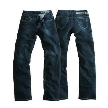 Rokker Rokker Jeans The Black Lady (Comfort Fit)  - THE BLACK LADYV