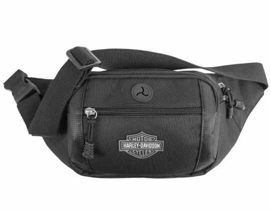 H-D Motorclothes Harley-Davidson Crossbody/Waist Bag Bar & Shield grey  - BP2200S-GRYB&S