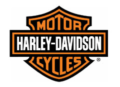 Harley-Davidson Exh-Shield,X-Over/Black  - 65395-05