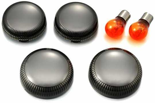 Thunderbike Turn Signal Lens Cover Kit smoke  - BSPOGL3-1