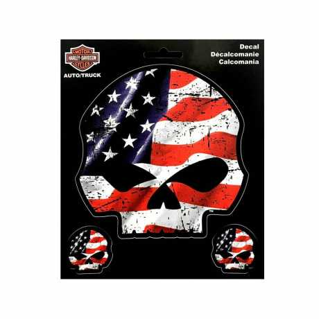 H-D Motorclothes Harley-Davidson Chroma H-D Skull  - CG25055