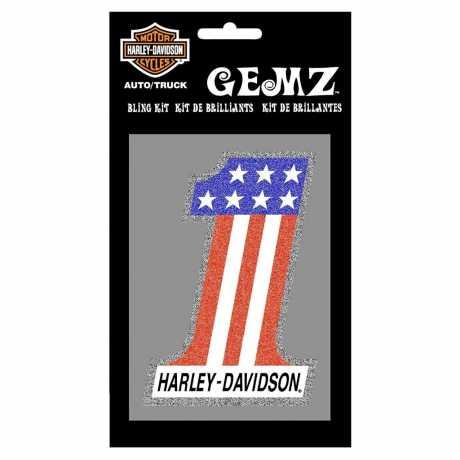 H-D Motorclothes Harley-Davidson Aufkleber #1 Gemz  - CG43001