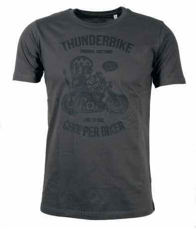 Thunderbike Clothing Thunderbike Kinder T-Shirt Chopper Biker grau  - 19-01-1343V