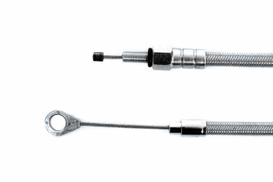 Thunderbike Clutch cable braided clear coat 205 cm - 52-70-070