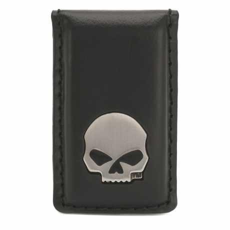 H-D Motorclothes Harley-Davidson Money Clip Skull black  - CORESM62