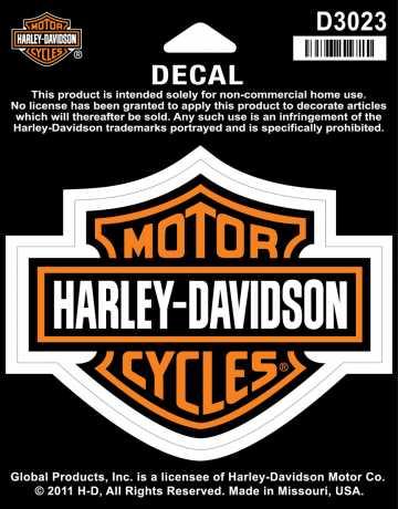 H-D Motorclothes Harley-Davidson Decal Bar & Shield, medium  - D3023