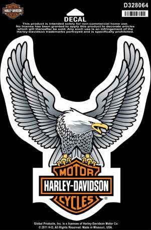 H-D Motorclothes Harley-Davidson Decal Upwing Eagle  - D328064