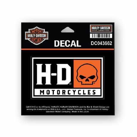 H-D Motorclothes Harley-Davidson Decal Skull SM  - DC043662