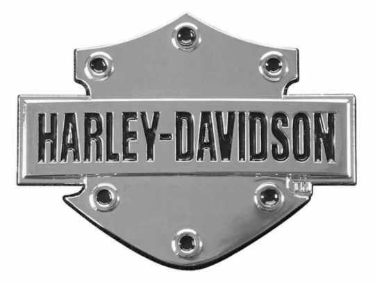 Harley-Davidson Aufkleber Bar & Shield 3D, Chrom