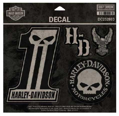 H-D Motorclothes Harley-Davidson Decals Dark Custom  - DC252883