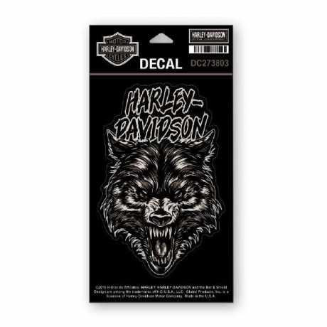 H-D Motorclothes Harley-Davidson Sticker Night Wolf  - DC273803