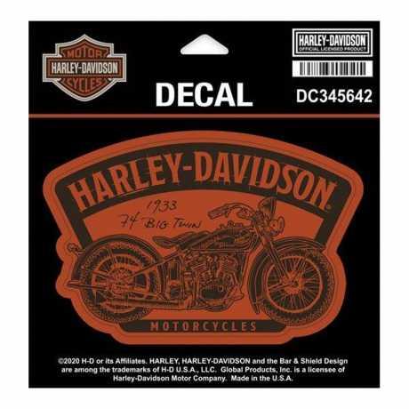 H-D Motorclothes Harley-Davidson Aufkleber Timeline  - DC345642