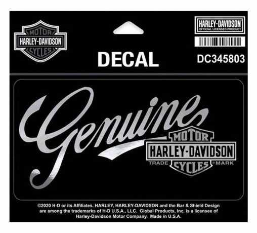 H-D Motorclothes Harley-Davidson Aufkleber Timeline Medium  - DC345803