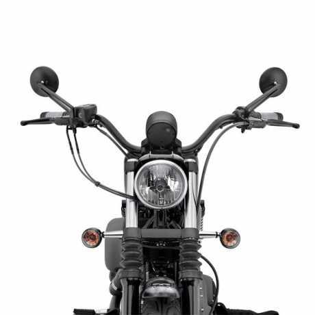 "Harley-Davidson Diamond-Black Brake Line  34""  - 41800178"