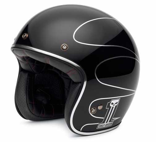 H-D Motorclothes Harley-Davidson Elite Retro 3/4 Helm  - EC-98307-14E