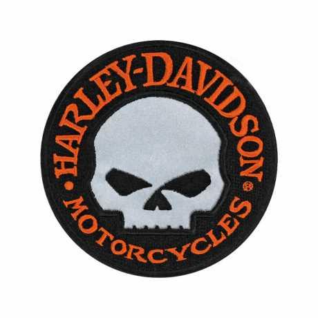 H-D Motorclothes Harley-Davidson Aufnäher Hubcap Reflective Willie G  - EM 1029642