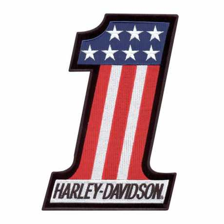 H-D Motorclothes Harley-Davidson Aufnäher #1 USA  - EM227841