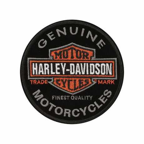 H-D Motorclothes Harley-Davidson Aufnäher Long Bar & Shield  - EM312642