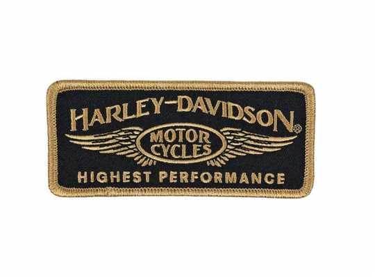 H-D Motorclothes Harley-Davidson Aufnäher Highest Performance  - EM336772