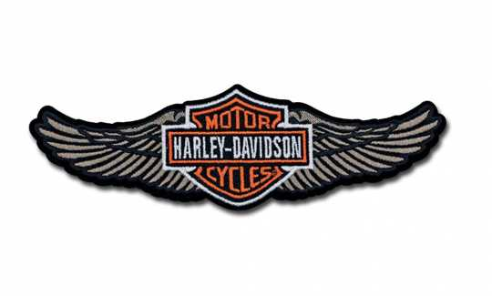 H-D Motorclothes Harley-Davidson Patch Straight Wing  - EM339123