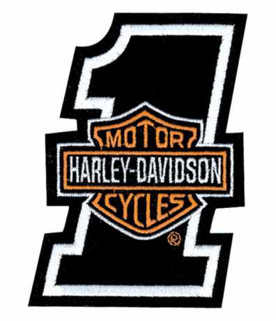 H-D Motorclothes Harley-Davidson Aufnäher Bar & Shield One, XS  - EMB035062