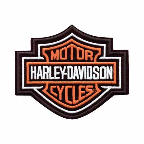 H-D Motorclothes Harley-Davidson Aufnäher Bar & Shield, XS  - EMB302381