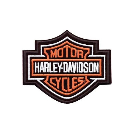 Harley-Davidson Aufnäher Bar & Shield, S