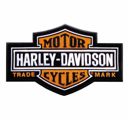 H-D Motorclothes Harley-Davidson Aufnäher Long Bar & Shield  - EMB312382
