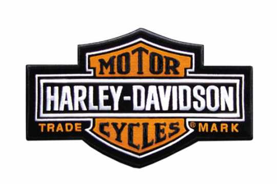 H-D Motorclothes Harley-Davidson Aufnäher Long Bar & Shield  - EMB312383