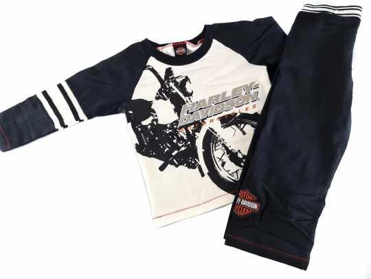 H-D Motorclothes Harley-Davidson Boys Fleece Shirt & Pant Set  - F9LBT31HD