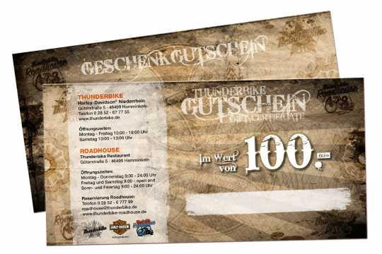 Thunderbike Thunderbike Gift Certificate  - GUTSCHEINV